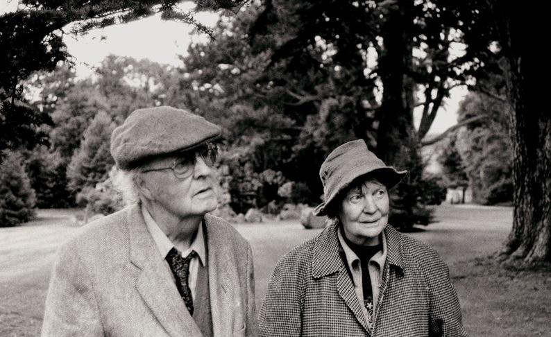 Ζευγάρια συγγραφέων Iris-Murdoch-and-John-Bayley
