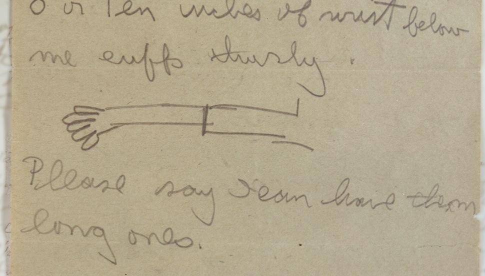 Το γράμμα του Ernest Hemingway στη μητέρα του