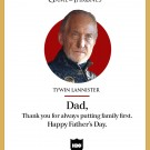 Happy Father's Day από το Game of Thrones