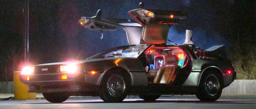 Back to the Future bttf-delorean