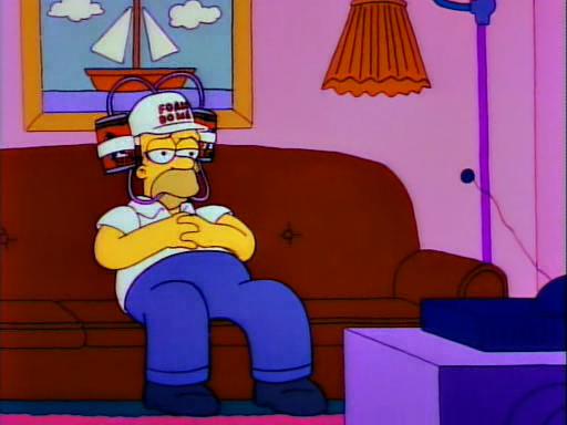 Άνθρωπος στον Άρη Simpsons