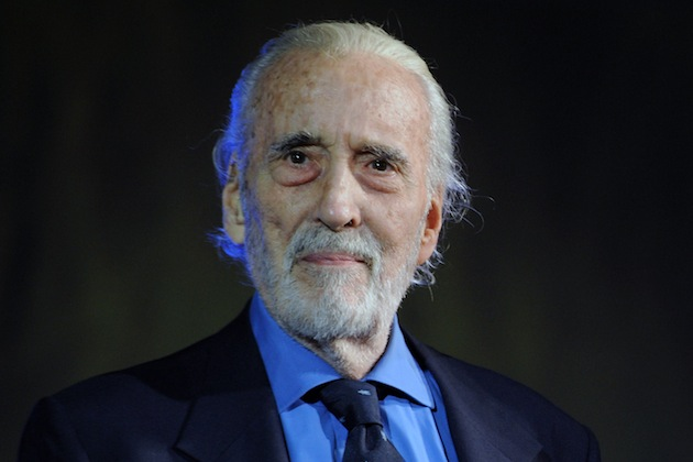 christopher lee - August 7, 2013