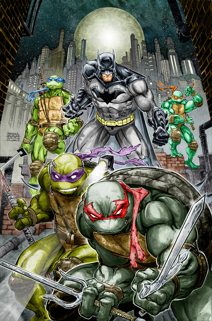 Batman TMNT Crossover