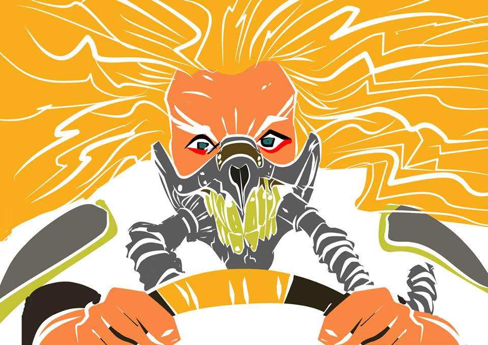 Mad Max fanart Fan Art derveniotis