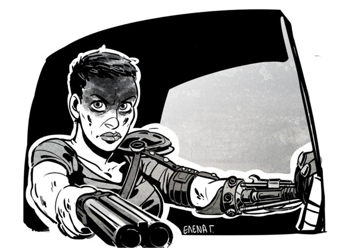 Mad Max Fury Road fan art gogou