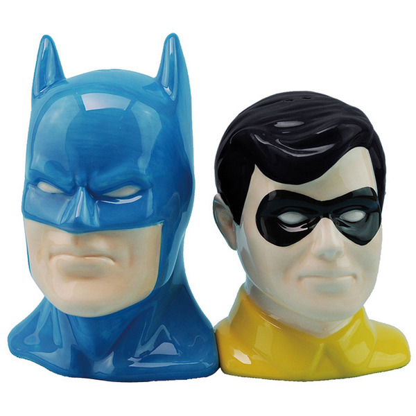 Batman Robin Salt Pepper