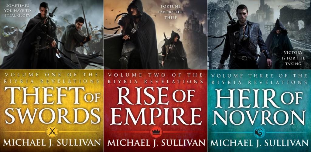 Αγαπημένα βιβλία Fantasy Riyria Trilogy