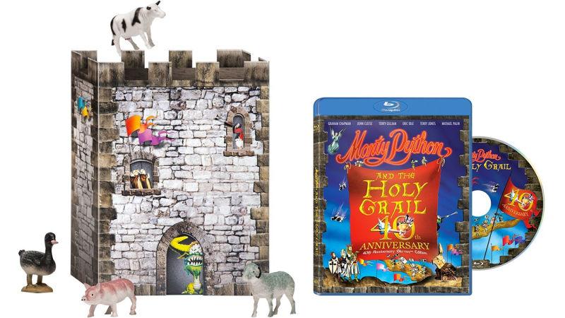 40th anniversary holy grain monty python boxset