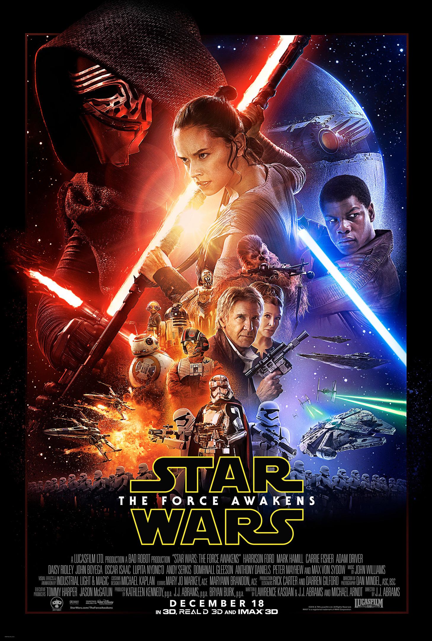 star wars force awakens poster spoiler alert