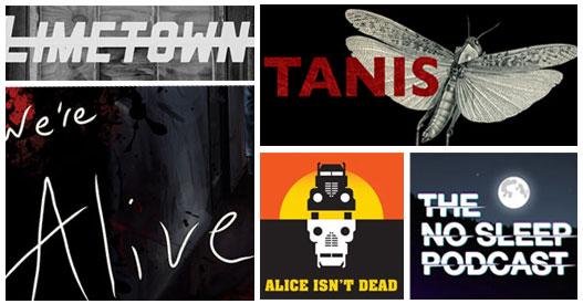 12+1 τρομακτικά Podcasts