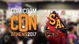COMICDOM CON ATHENS 2017 – Spoiler Alert On The Spot