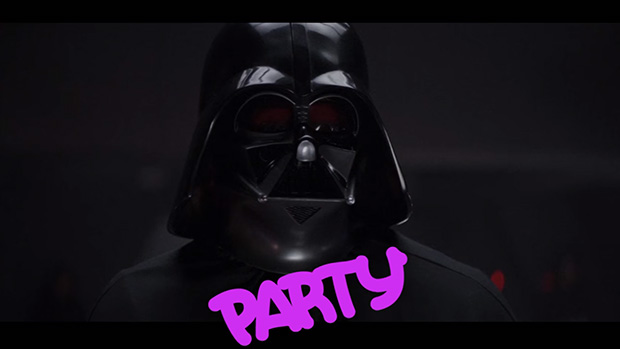 VADER WANTS TO PARTY : A Star Wars Tribute
