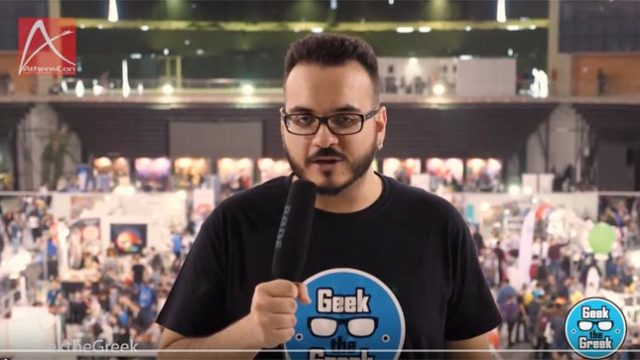 Geek the Greek – AthensCon 2017