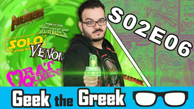 Geek the Greek – S02E06 – Wesley Snipes, Rise of the TMNT, Nissan PS4