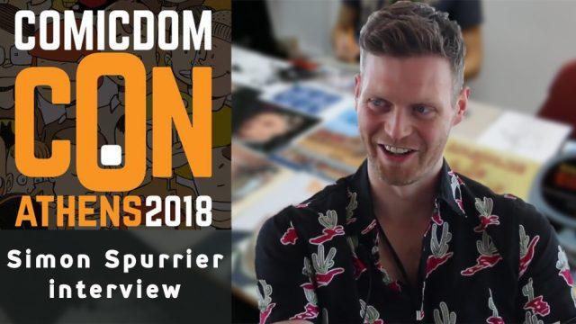 Συνέντευξη με τον Simon Spurrier – Comicdom Con 2018